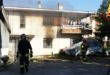 Cavazzale, incendio in casa. Famiglia intossicata
