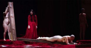 Un altro spettacolo che fece molto discutere a Vicenza, qualche anno, quello di Angelica Liddell...