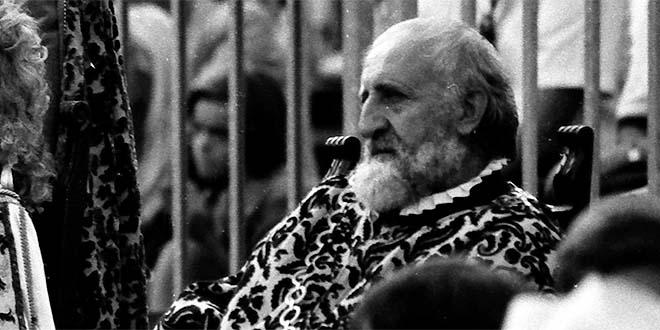 Milosc Voutchinitch durante la Partita a Scacchi del 1992 (Foto Sergio Sartori)