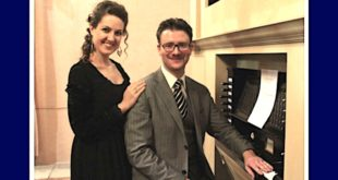 La soprano Alessandra Borin e il maestro Manuel Canale, protagonisti del concerto di sabato a Breganze