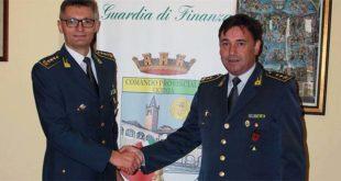 Da sinistra: Il colonnello Fabio Dametto e il tenente colonnelloSergio Demichelis.
