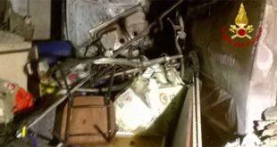 Lonigo, a fuoco garage di un condominio