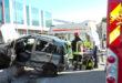 Schio, una donna ferita nello scontro auto-furgone