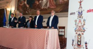 Da sinistra: Cegalin, Vianello, Quagliariello, Variati, Nicolai