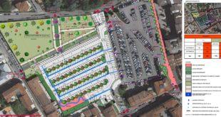 Il progetto per la bonifica dell'area adiacente al parcheggio Cattaneo