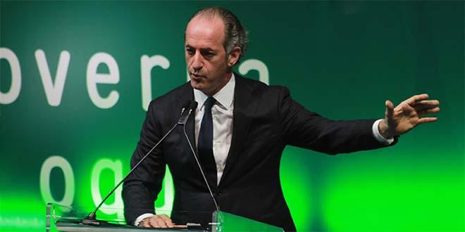 Zaia è il governatore con più consenso in Italia