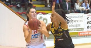 26 punti per Melisa Brcaninovic nel vittorioso derby con San Martino di Lupari