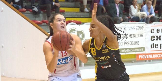Basket, la VelcoFin Vicenza manda al tappeto San Martino