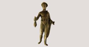Bronzetto di Mercurio custodito al Museo Zannato di Montecchio Maggiore
