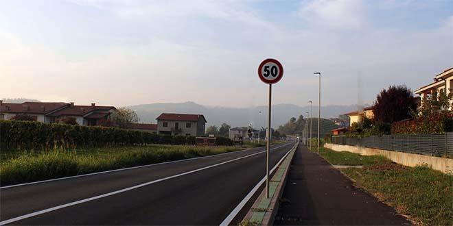 Montebello, pronta la ciclabile di Strada della Mira