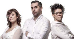 Paola Saba, Alessandro Rocco e Valentina Conte