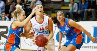 Francesca Santarelli, play della VelcoFin Vicenza, alla sua prima stagione in maglia biancorossa
