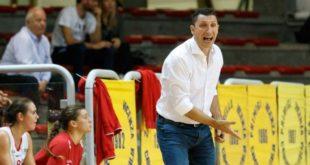 Coach Jonata Chimenti, alla prima stagione sulla panchina della VelcoFin Vicenza