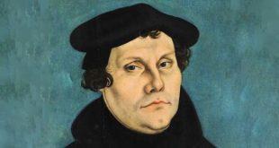 Ritratto di Martin Lutero, di Lucas Cranach (1529)