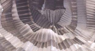 """Un'opera della mostra """"Respira"""" visitabile durante il Festival della Scienza di Schio"""