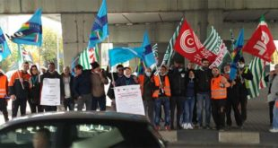 Presidio a Vicenza Ovest per lo sciopero dei trasporti