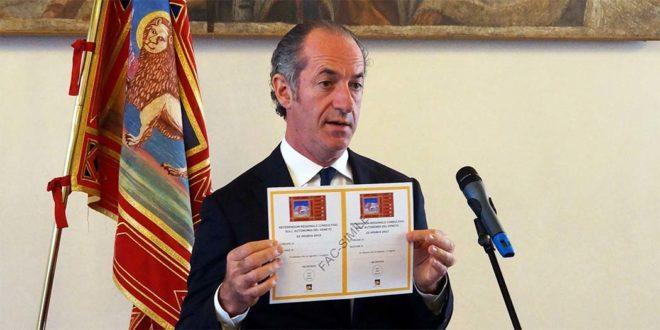 Referendum autonomia, i numeri del voto in Veneto
