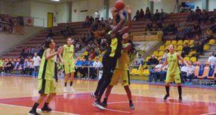Un bottino di 17 punti per Yacoubou, nella vittoria contro San Martino di Lupari. Immagine d'archivio