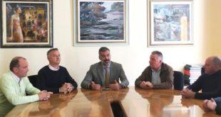 Da sinistra: Illesi, Nervo, Ferazzoli, Bombieri e Perli