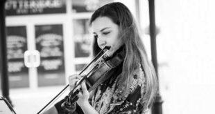 La violinista Luisa Zin