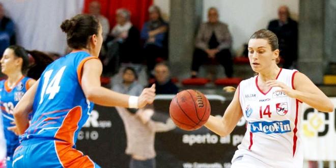 Francesca Santarelli, play della VelcoFin Vicenza