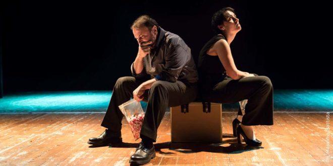 Natalino Balasso e Marta Dalla Via (Foto di Massimo Battista)