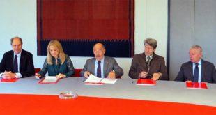 Da sinistra: Ernesto Boschiero, Maria Cristina Franco, Sergio Rebecca, Giovanni Maria Forte, Paolo Chiarello