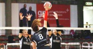 Sconfitta 3-1 per l'Anthea Volley a Brescia. Foto d'archivio (Paolo Rugiero)