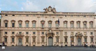 Il Palazzo della Consulta, a Roma, sede della Corte costituzionale