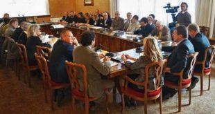 L'incontro tenuto per illustrare i risultati del monitoraggio sulla presenza di Pfas negli alimenti