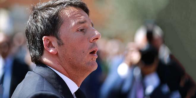 Il segretario del Pd Matteo Renzi- Foto di Francesco Pierantoni (CC BY 2.0)