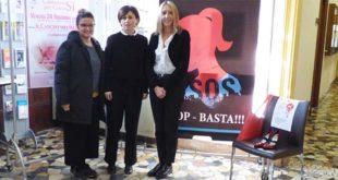 Da sinistra: Francesca Zorzo, Giavanna Calapai, Gabriella Strinati
