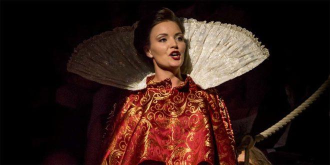 """Giulia Bolcato ne """"L'Orfeo"""" di Monteverdi, per Vicenza in Lirica, settembre 2017 - Foto di Luigi De Frenza"""