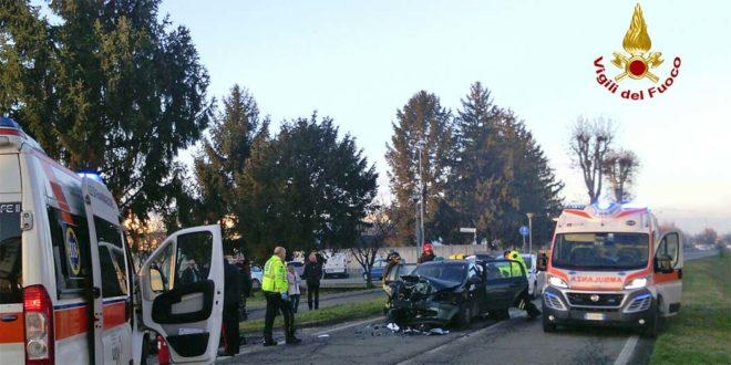 Sarego, sei feriti in uno scontro fra tre auto