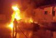 Schiavon, auto parcheggiata distrutta dalle fiamme