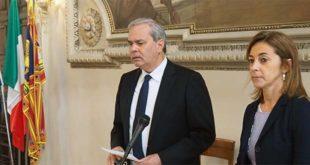 Il sindaco Variati e l'assessore Cavalieri danno l'annuncio dello stop al progetto del Fondo immobiliare