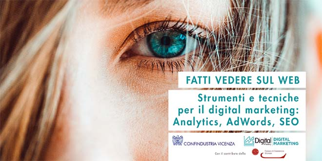 Il web marketing in un incontro di Confindustria