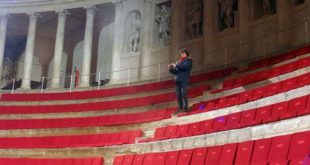 Alberto Angela al Teatro Olimpico