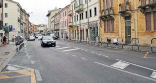 La rapina è avvenuta in corso Santi Felice e Fortunato, a Vicenza. Immagine di repertorio