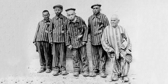 Prigionieri disabili nel lager nazista di Buchenwald
