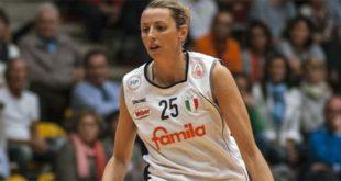 Ottima prova di Laura Macchi contro Torino: l'ala arancione ha messo a referto 21 punti