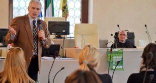 L'incontro di oggi, a Vicenza, sulle mafie. (Foto tratta dal sito http://conoscerelemafie.it/