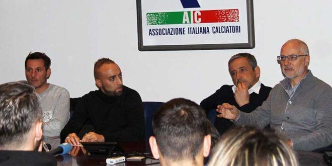 Da sinistra: Pietro De Giorgio, Stefano Giacomelli, Moreno Zocchi e Gianni Grazioli