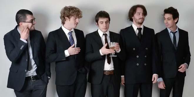 la band Lo Stato Sociale, classificatasi al secondo Posto, al Festival di Sanremo...