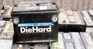 25 le batterie per auto sottratte all'ecocentro di Sossano