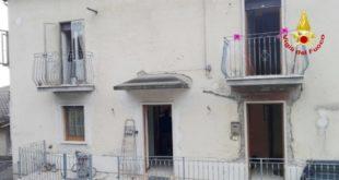 L'abitazione di contrada Cengiati, a Valdagno