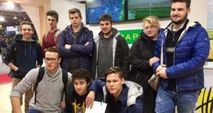 Studenti dell'istituto agrario Parolini a Fieragricola