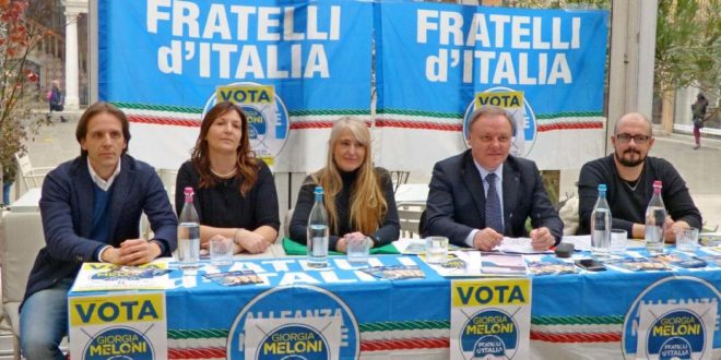 Da sinistra: Pedrazzoli, Massaro, Caretta, Berlato e Ierardi