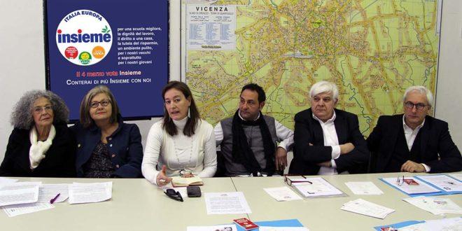 Piera Bortolami, Franca Marcomin, Francesca Dall'Aglio, Luca Fantò, Giovanni Coviello, Ennio Tosetto
