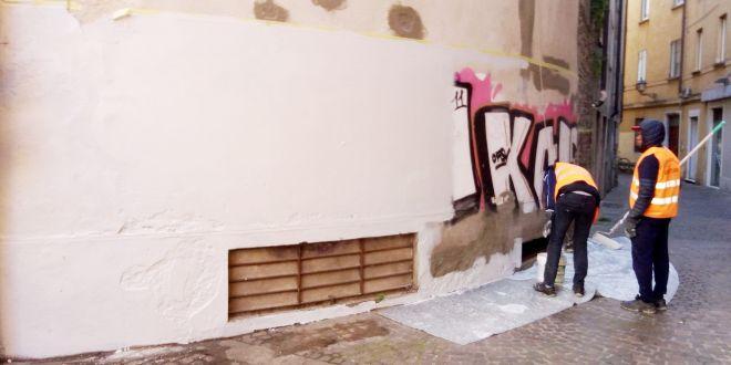I lavori all'ex cinema Corso, a Vicenza